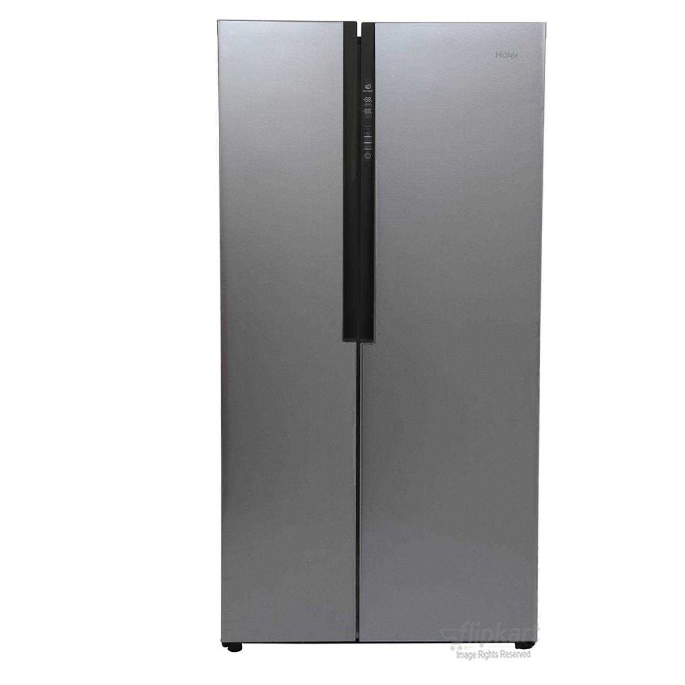Haier Hrf 618ss Side By Side Door 565 Litres Frost Free Refrigerator