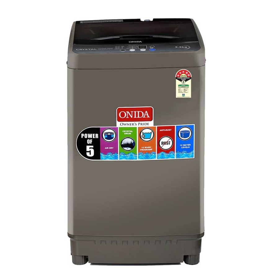 Onida T55CGN 5.5 Kg Fully Automatic Top Loading Washing Machine
