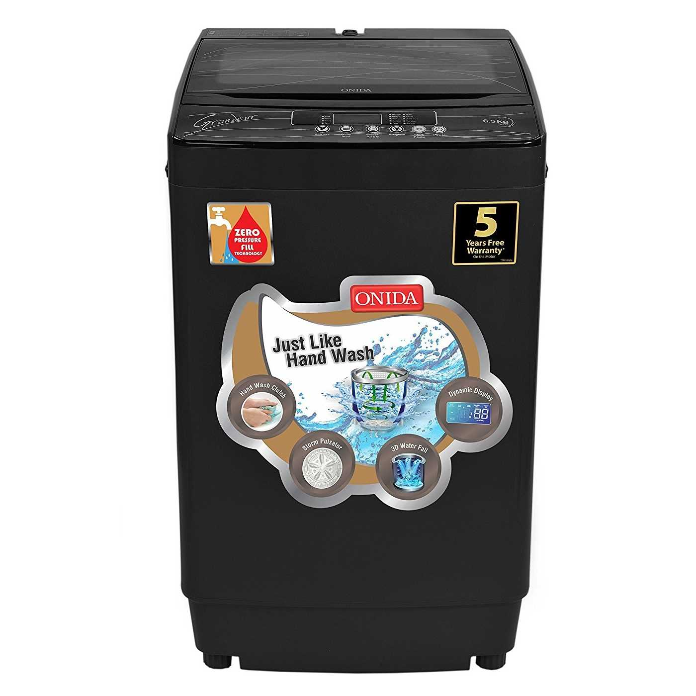 Onida T65GRDG 6.5 Kg Fully Automatic Top Loading Washing Machine