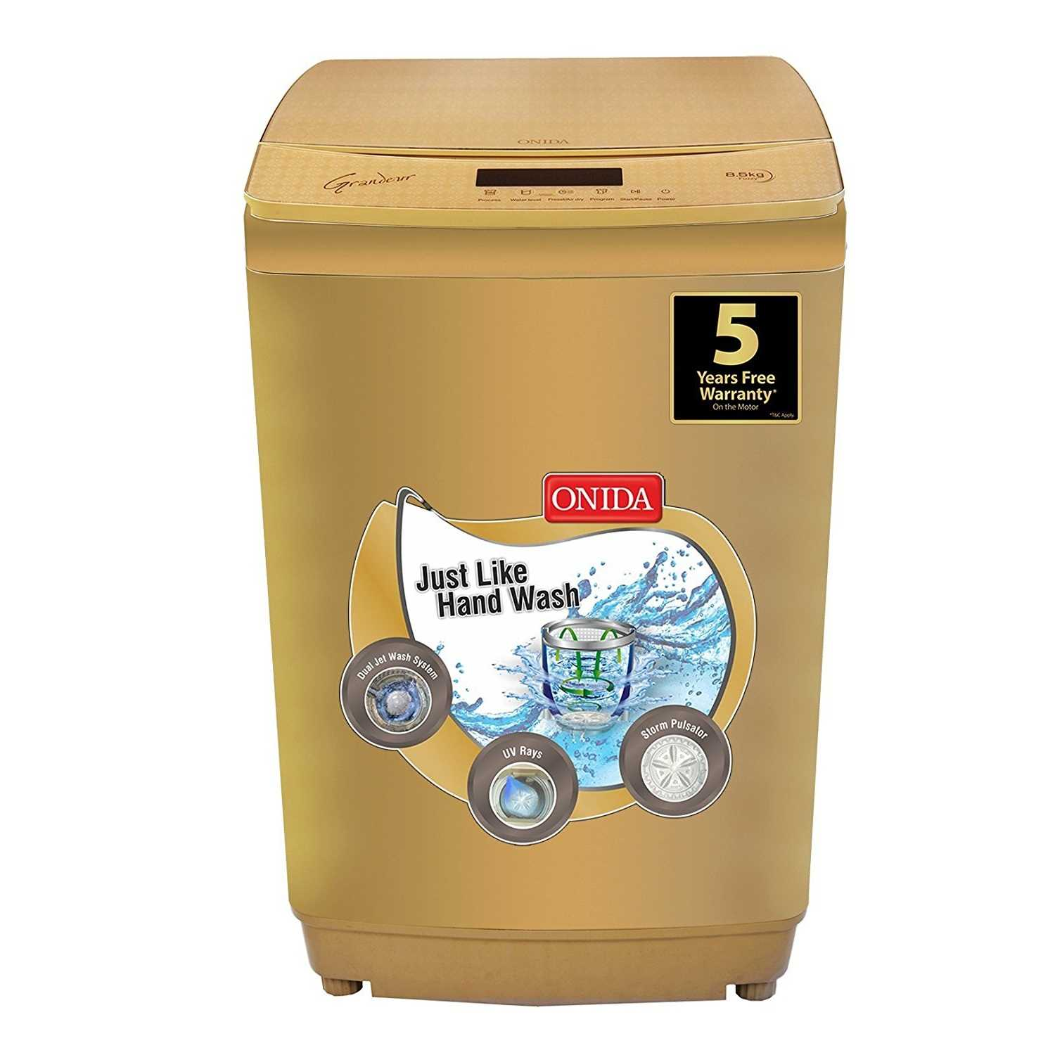 Onida Grandeur T85GRDD 8.5 Kg Fully Automatic Top Loading Washing Machine