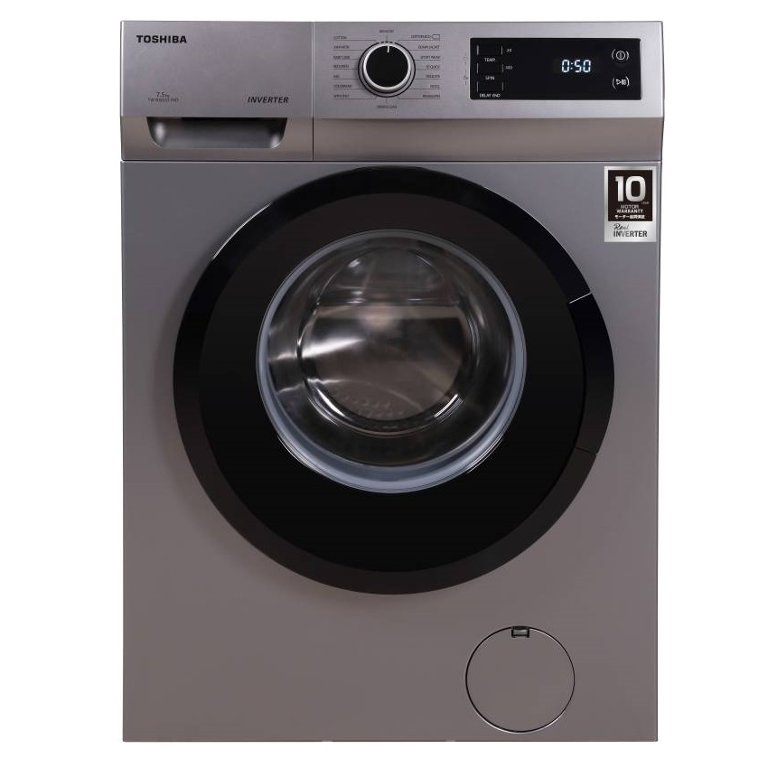 Toshiba TW-BJ85S2-IND 7.5 Kg Fully Automatic Front Loading Washing Machine