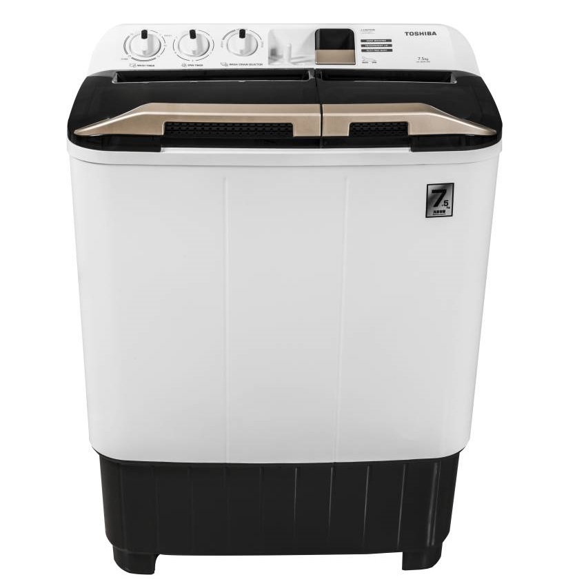 Toshiba VH-J85W-IND 7.5 Kg Semi Automatic Top Loading Washing Machine