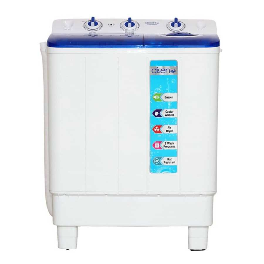 Aisen A70SWM600 7 Kg Semi Automatic Top Loading Washing Machine