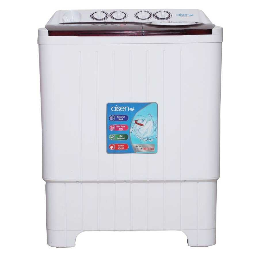 Aisen A75SWM700 7.5 Kg Semi Automatic Top Loading Washer with Dryer