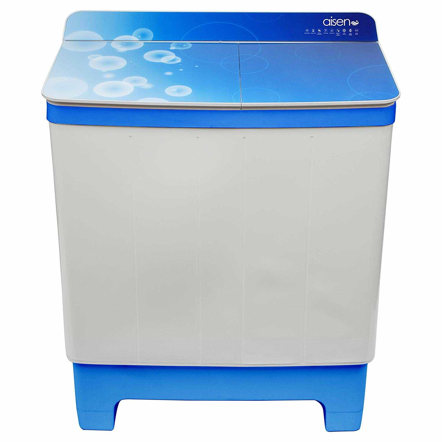 Aisen A85SWT800 8.5 Kg Semi Automatic Top Loading Washing Machine