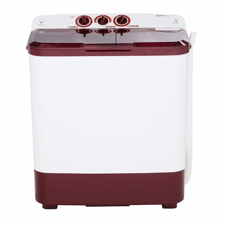 AmazonBasics AB6.5SATLC1 6.5 Kg Semi Automatic Top Loading Washing Machine