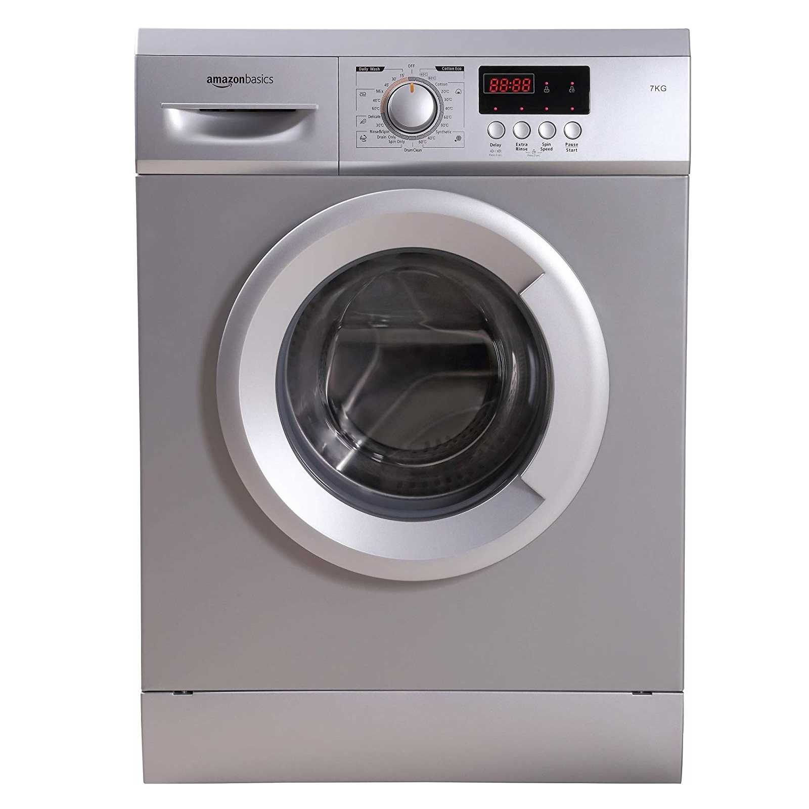 AmazonBasics AB7FAFL009 7 Kg Fully Automatic Front Loading Washing Machine
