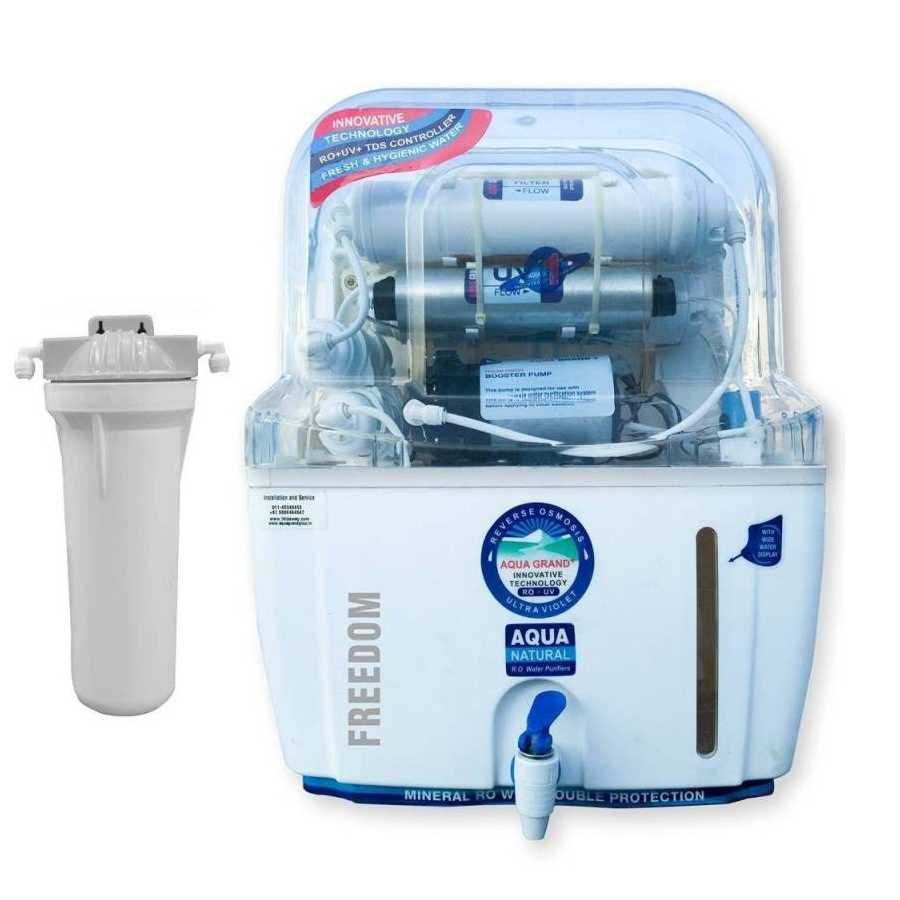 Aquagrand Plus Freedom 12 Litre RO UV Water Purifier