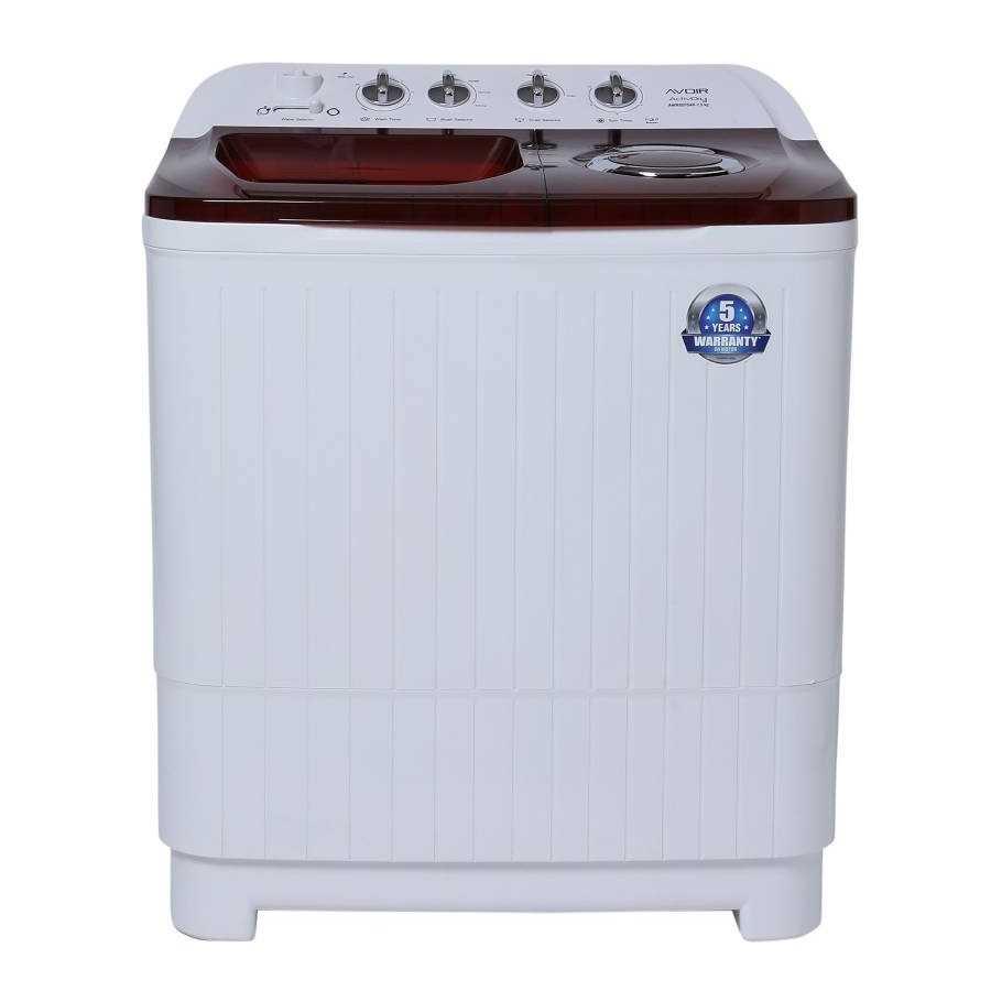 Avoir AWMSD75AR 7.5 Kg Semi Automatic Top Loading Washing Machine