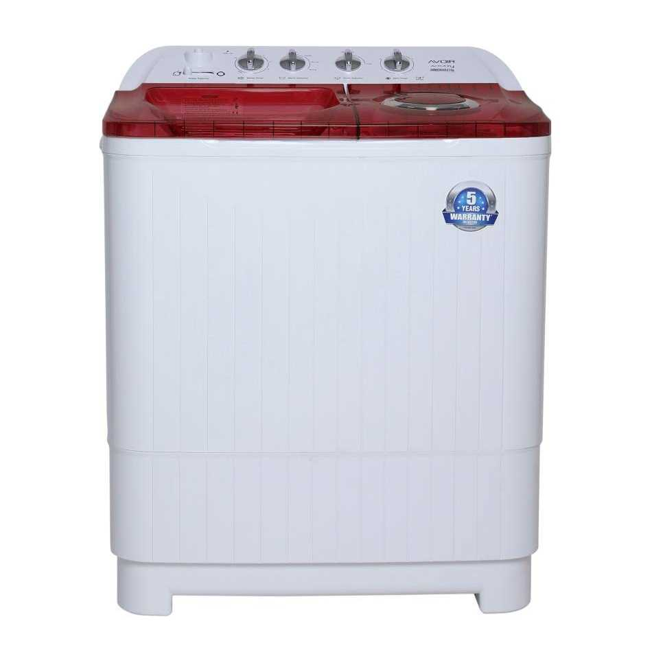 Avoir AWMSD85AR 8.5 Kg Semi Automatic Top Loading Washer with Dryer