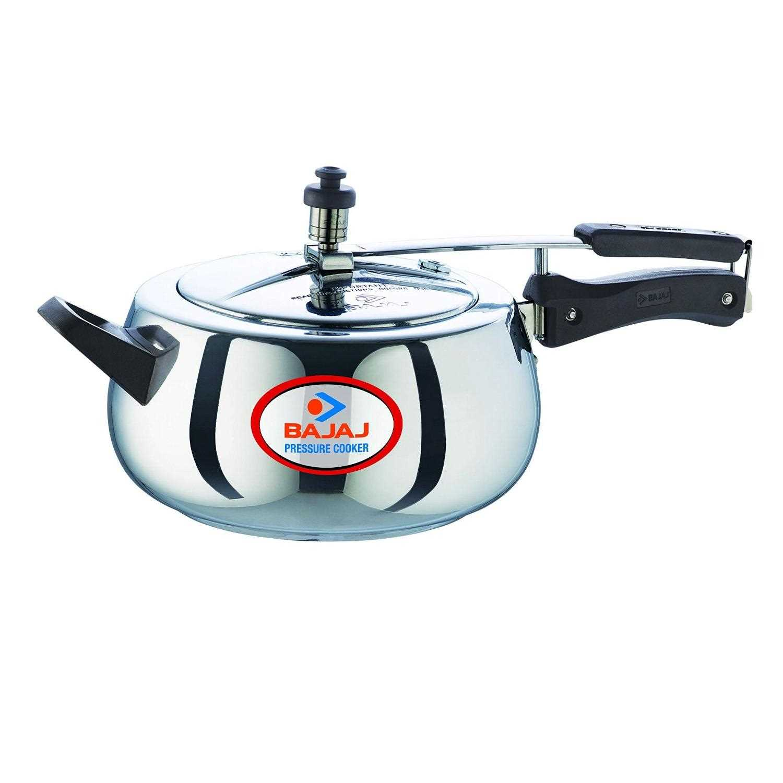 Bajaj Pressure Cooker - Majesty PCX 65D 5L Handi Image