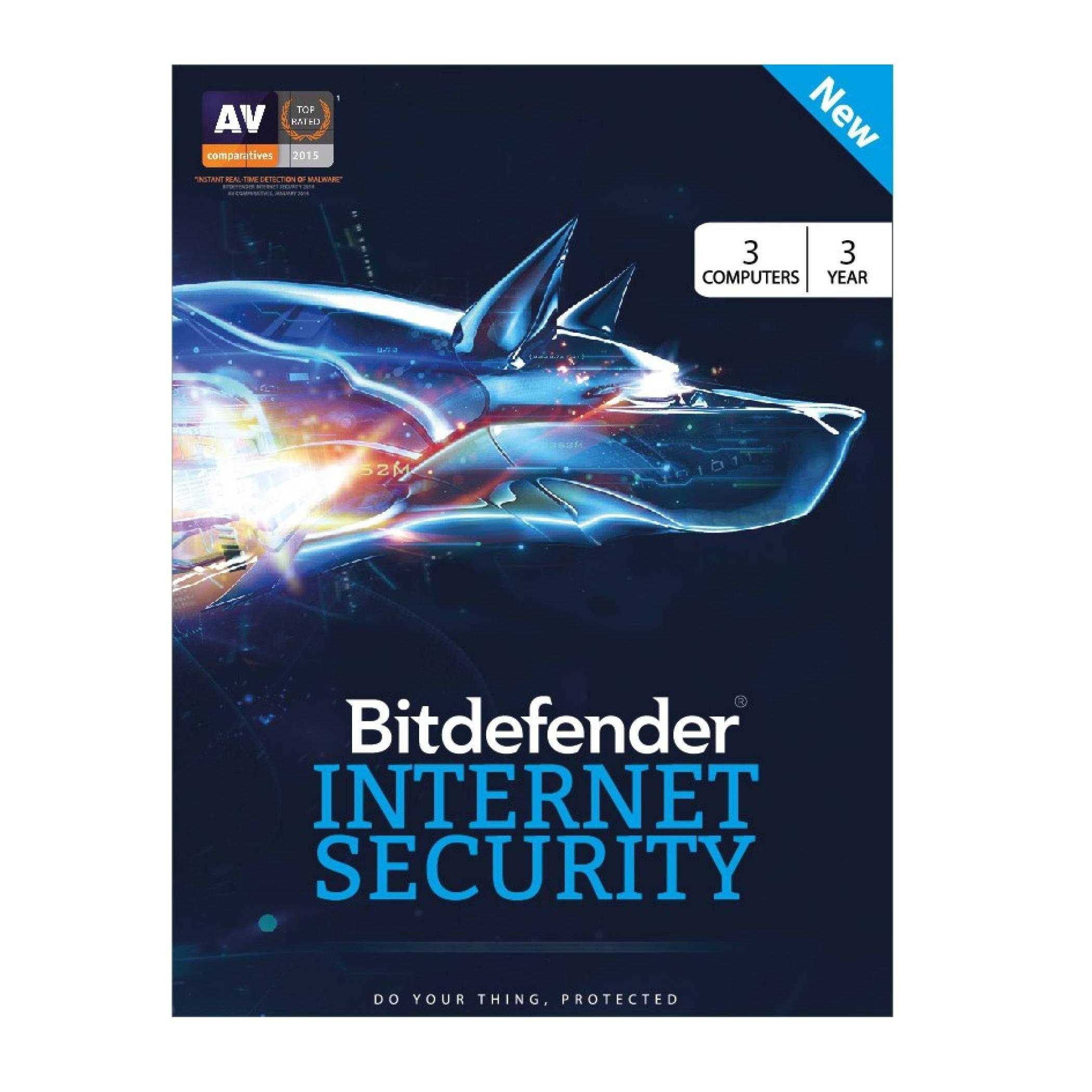 Bitdefender Total Security - 5 Devices - 1 Year - Multi Device Bitdefender Total Security - 5 Devices - 1 Year - Secure up to 5 different devices: Windows, Mac OS, iOS and Android. The New Bitdefender Total Security Multi Device for Is Now Out! The Best Cybersecurityin theWorld, Time Winner awarded by PC MAG. Best Protection.