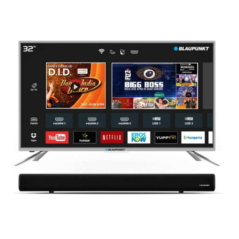 Blaupunkt BLA32AS460 32 Inch HD Ready Smart LED Television