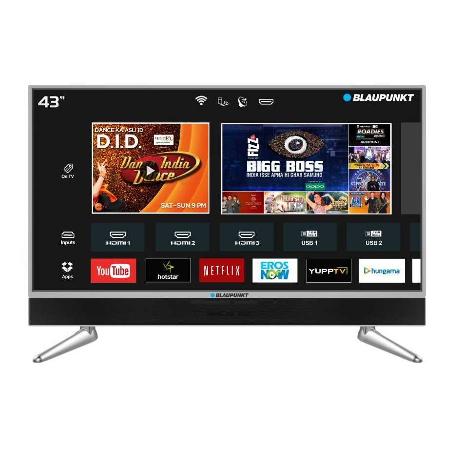 Blaupunkt BLA43AU680 43 Inch 4K Ultra HD Smart LED Television