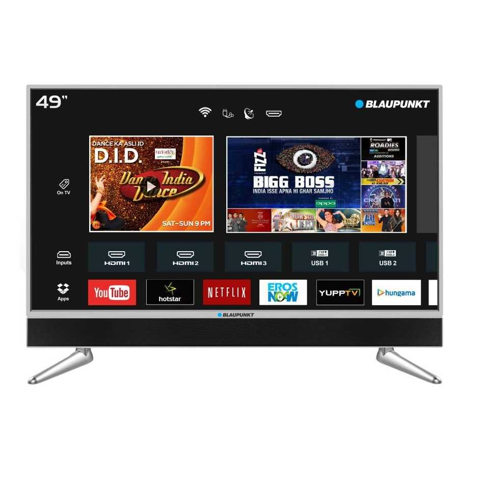 Blaupunkt BLA49AU680 49 Inch 4K Ultra HD Smart LED Television