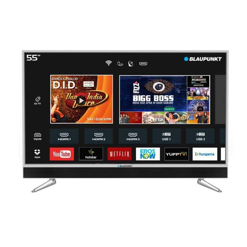 Blaupunkt BLA55AU680 55 Inch 4K Ultra HD Smart LED Television
