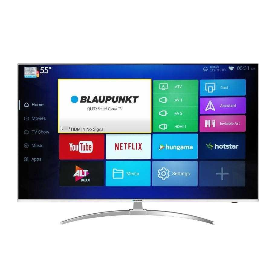 Blaupunkt BLA55QL680 55 Inch 4K Ultra HD Smart QLED Television