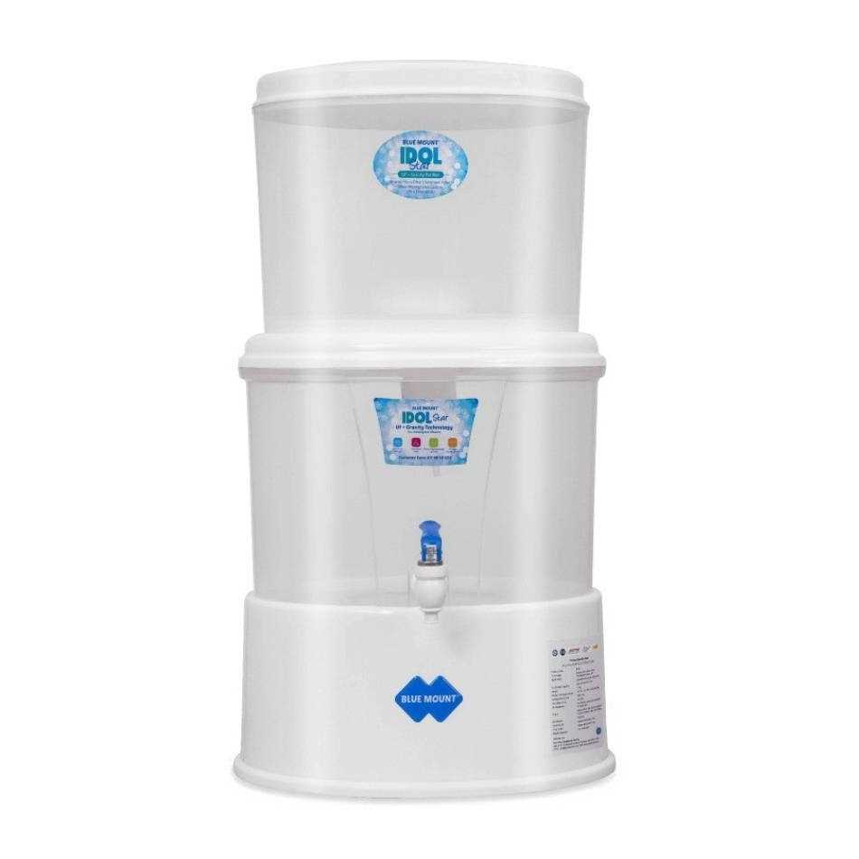 Blue Mount Idol Star BM20 18 L Gravity Based Water Purifier