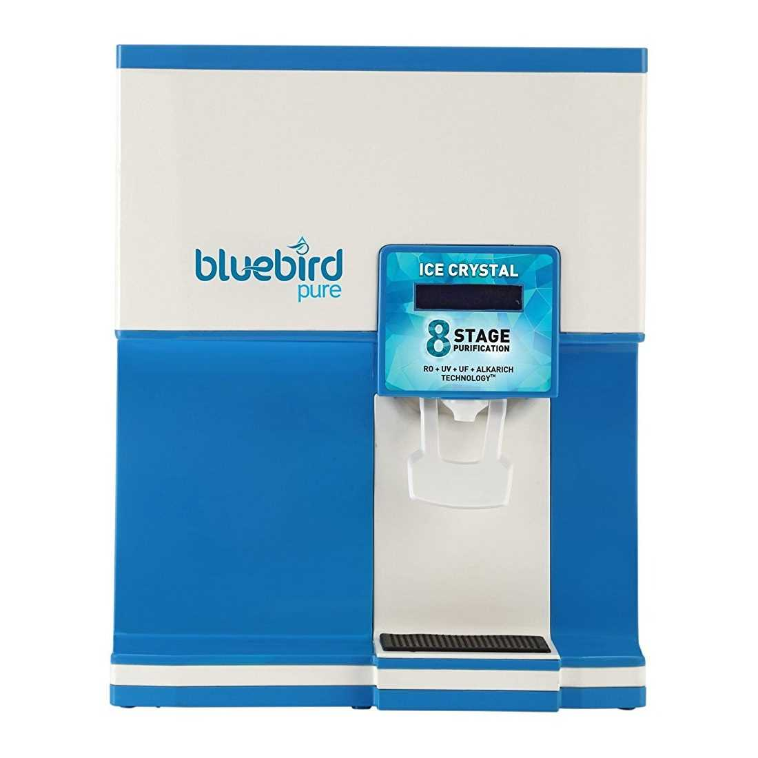 Bluebird Pure Ice Crystal 8 Litre RO UV UF Water Purifier