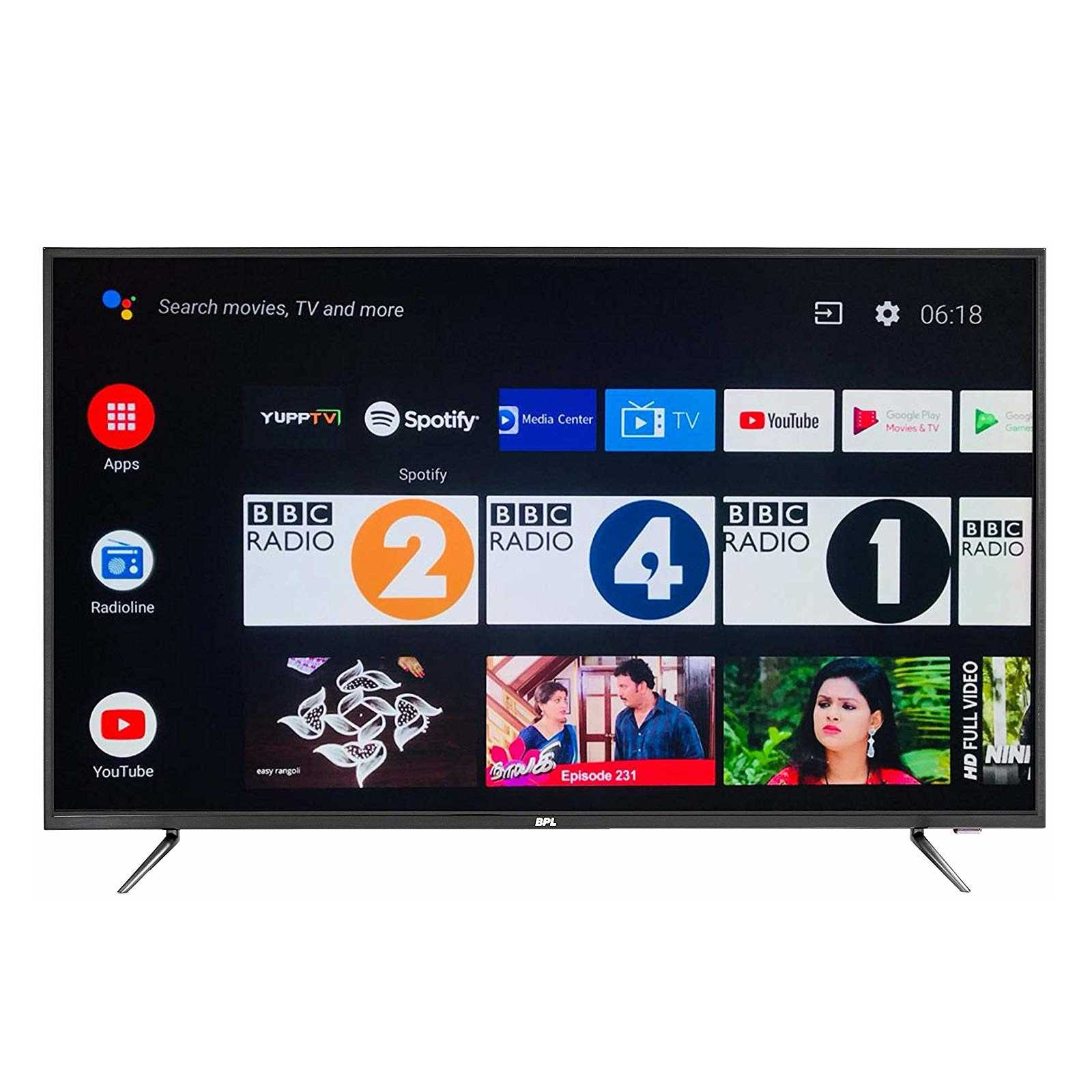 BPL T49AU26A 49 Inch 4K Ultra HD Android Smart LED Television