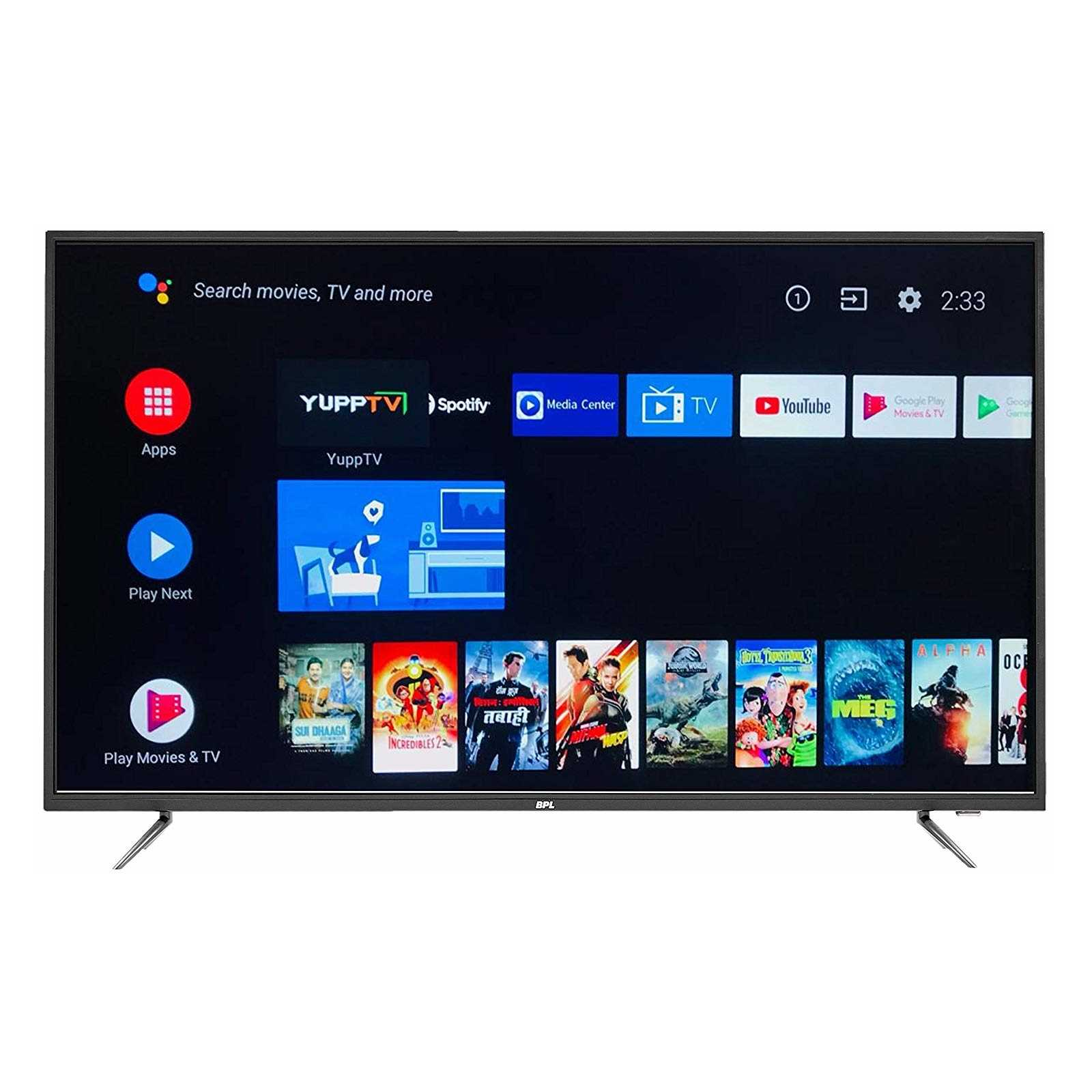 BPL T55AU26A 55 Inch 4K Ultra HD Android Smart LED Television