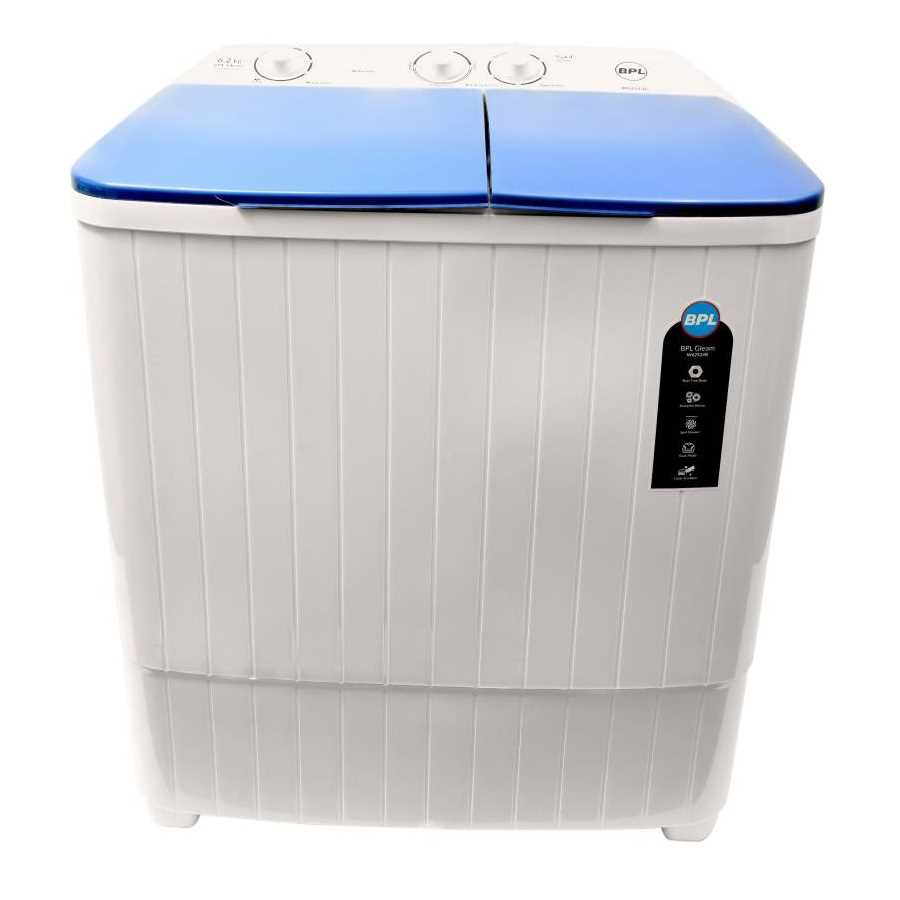 BPL W62S24B 6.2 Kg Semi Automatic Top Loading Washing Machine