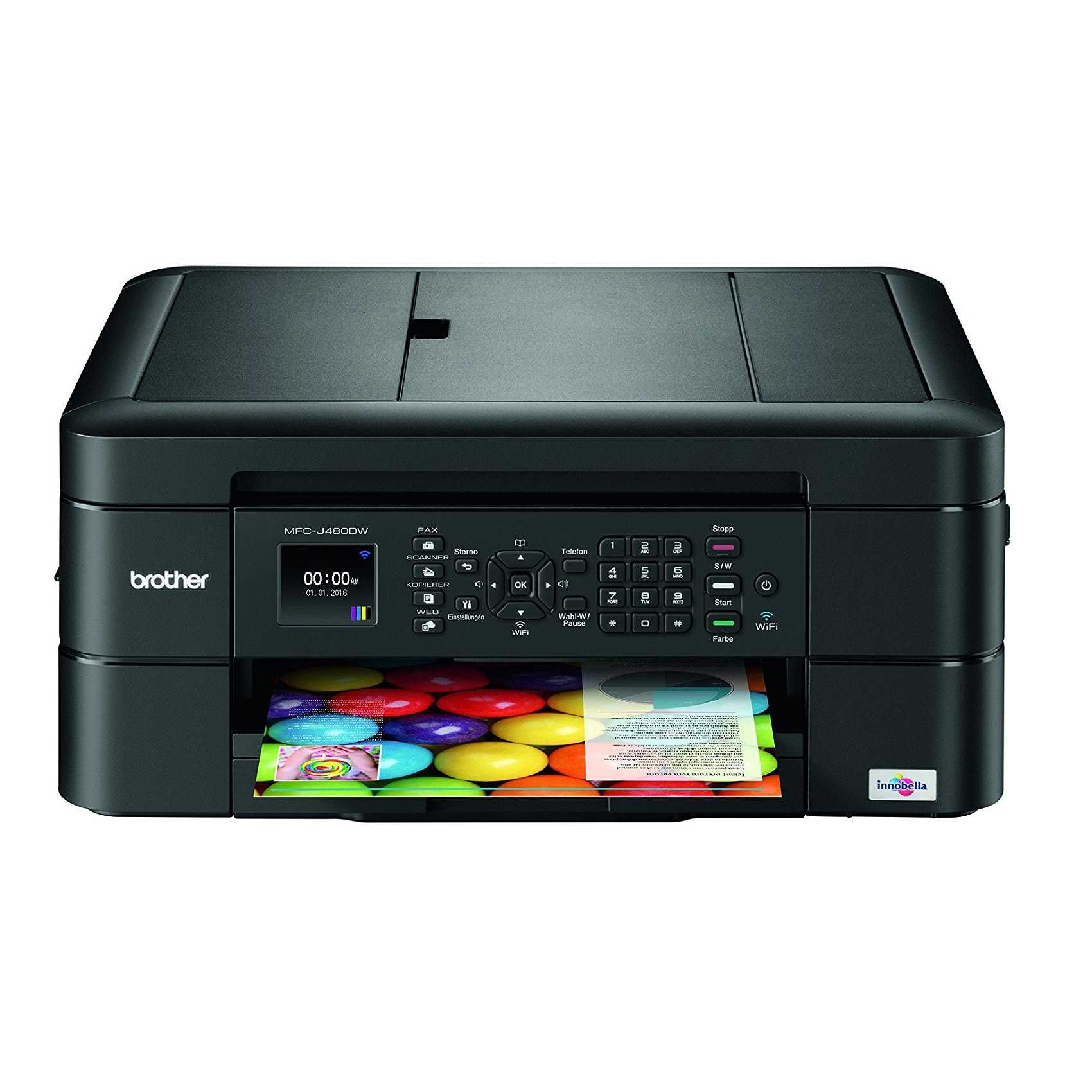 Brother MFC-J480DW Inkjet All In One Printer
