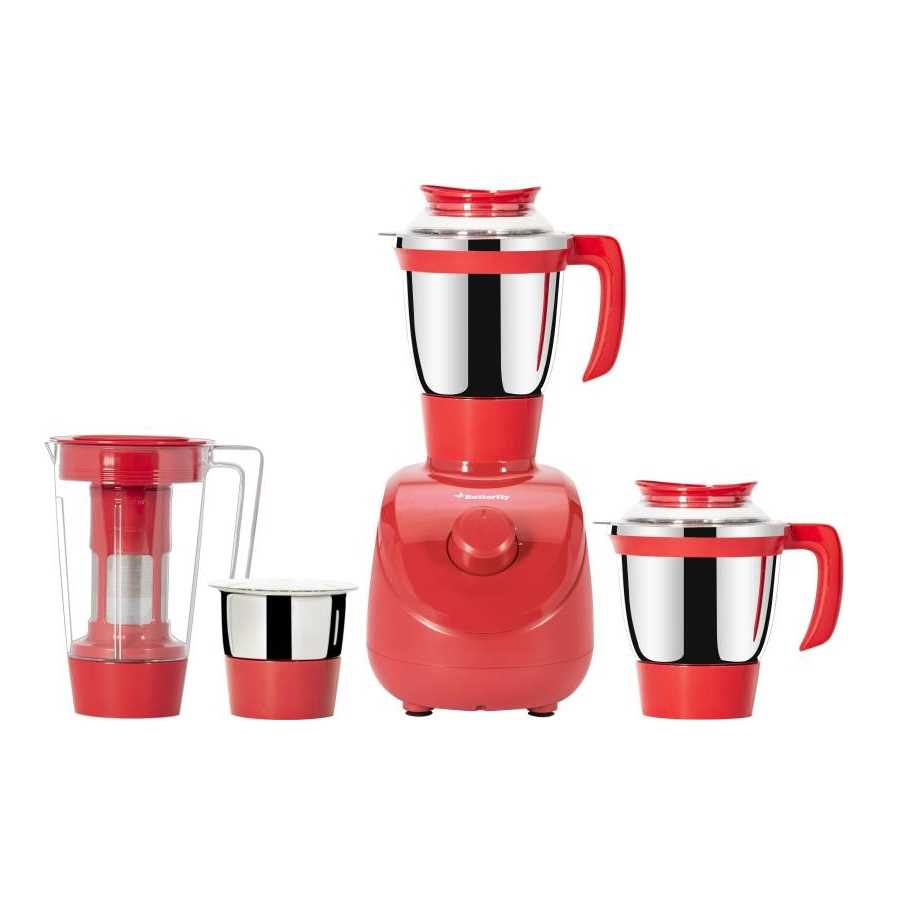 Butterfly Xing 750 W Juicer Mixer Grinder