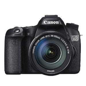 Canon EOS 70D Camera with 18-55 mm lens