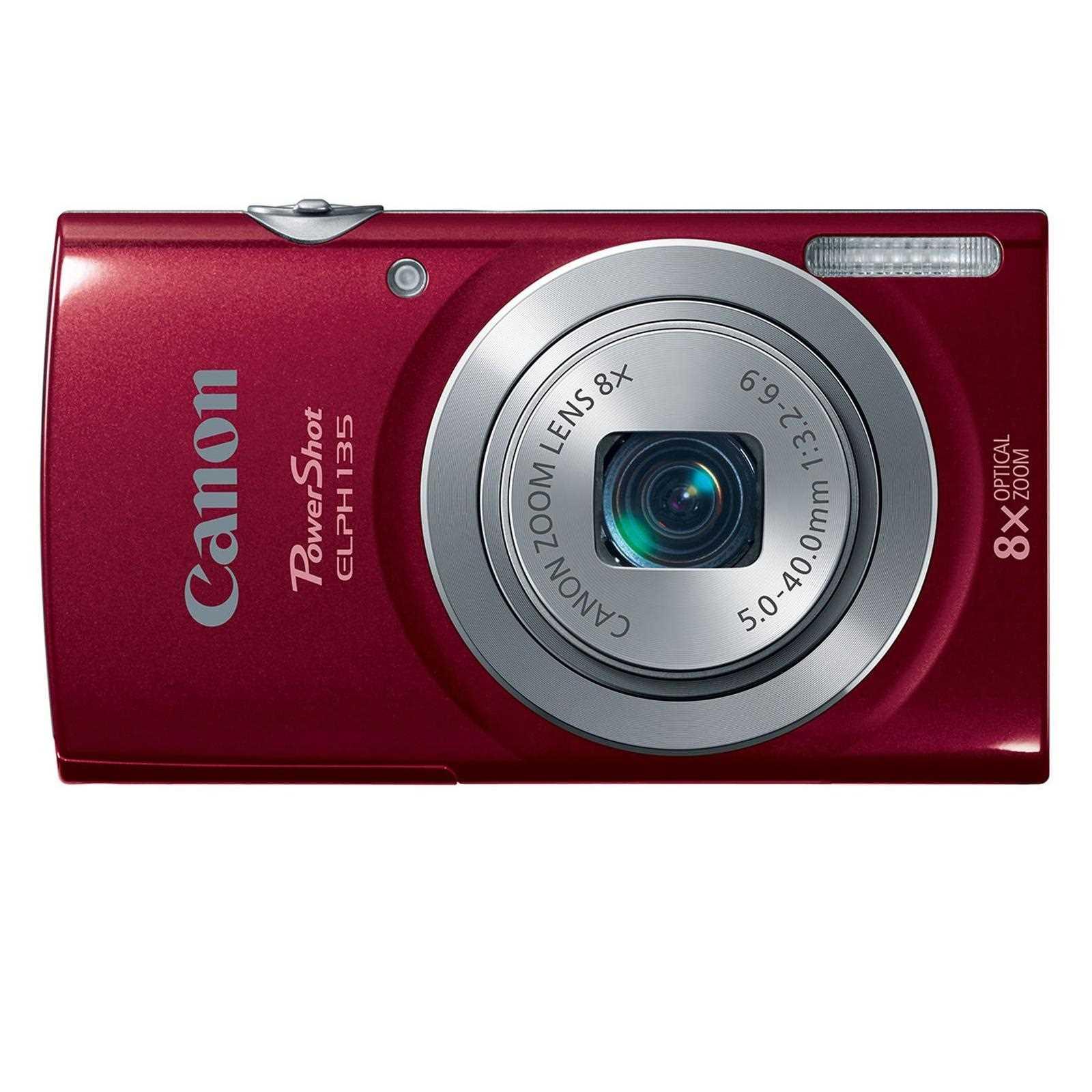 Canon PowerShot ELPH 135 IS Camera