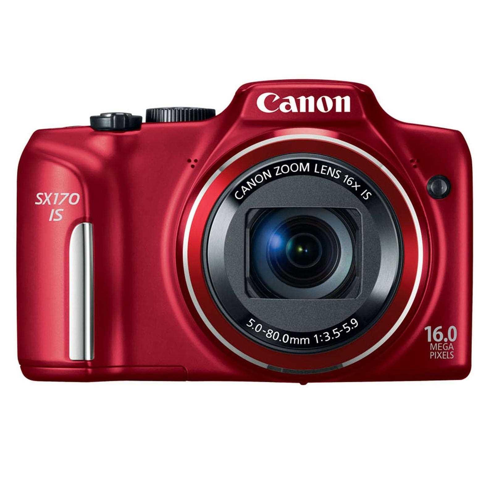 Canon PowerShot SX170 IS Camera