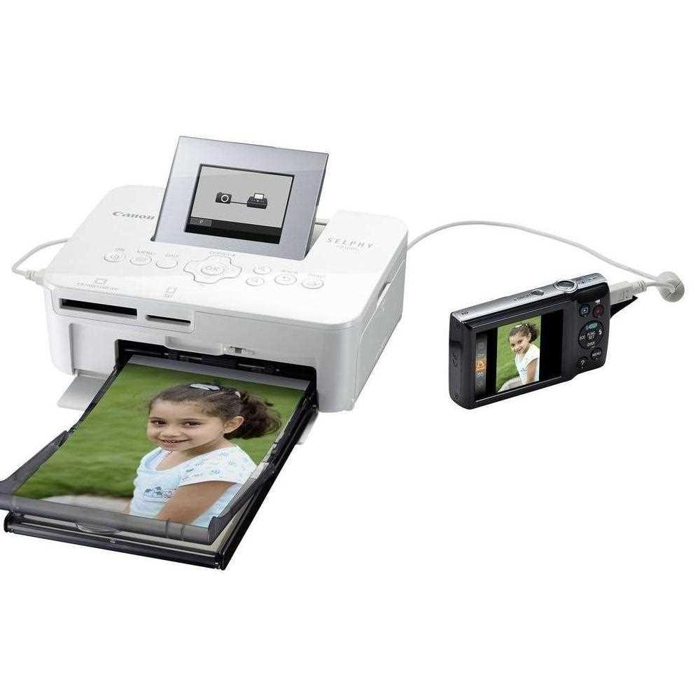 Canon Selphy CP1000 Compact Photo Printer