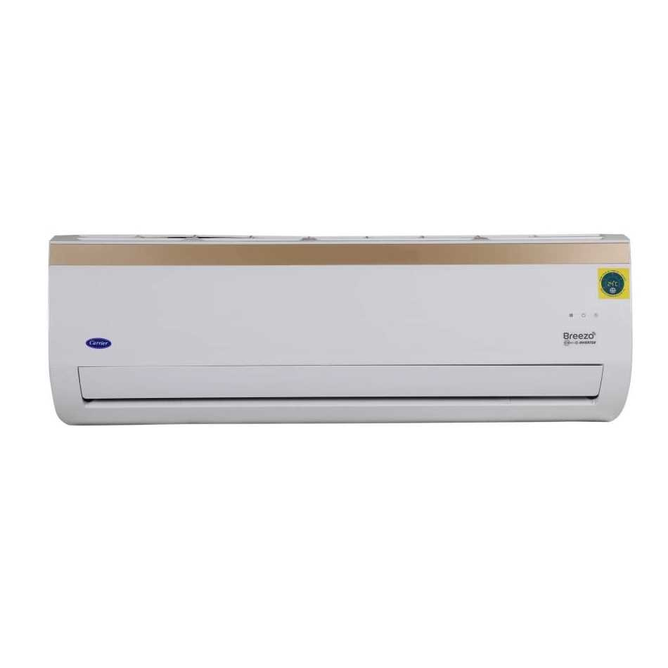 Carrier 18K Breezo 1.5 Ton 3 Star Inverter Split AC