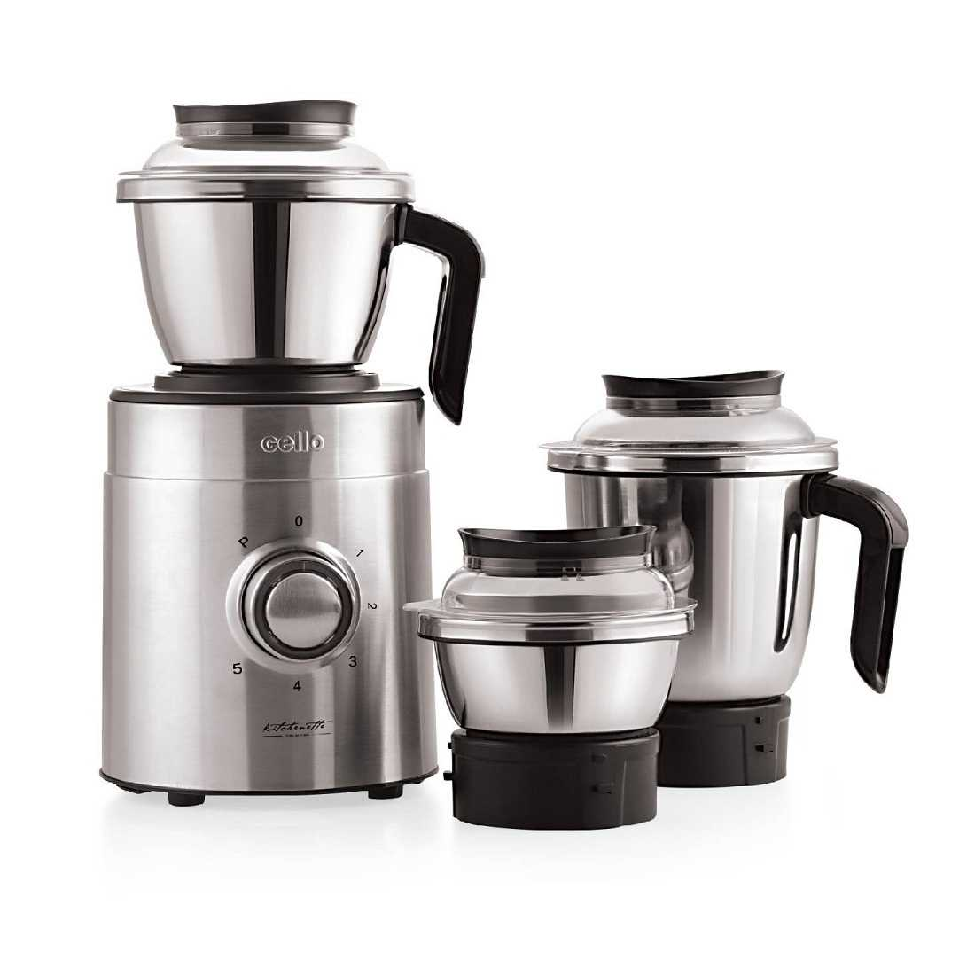Cello Grind-N-Mix 1100 Ultra 850 W Mixer Grinder
