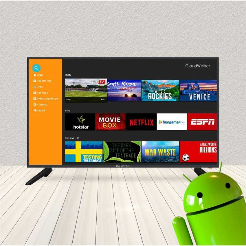 CloudWalker 43SF04X 43 Inch Full HD Smart LED Television