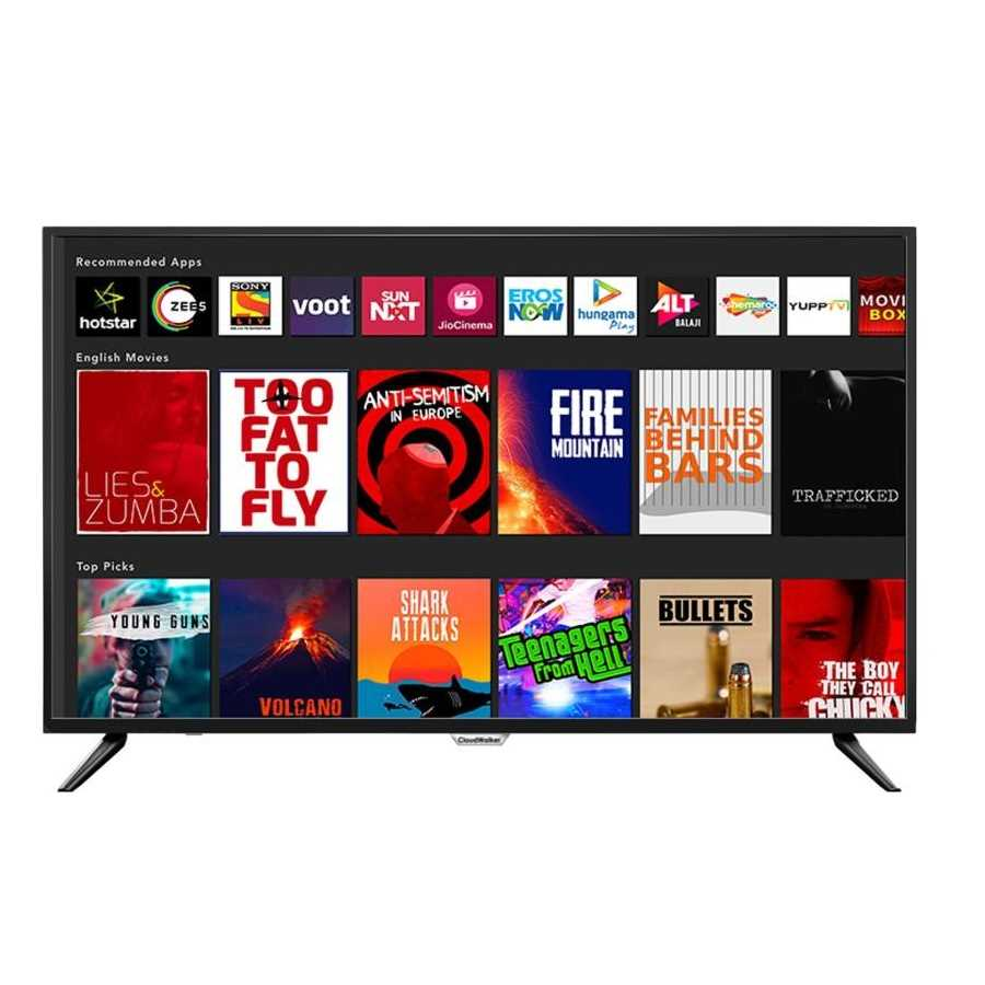 CloudWalker 55SUA7 55 Inch 4K Ultra HD Smart LED Television