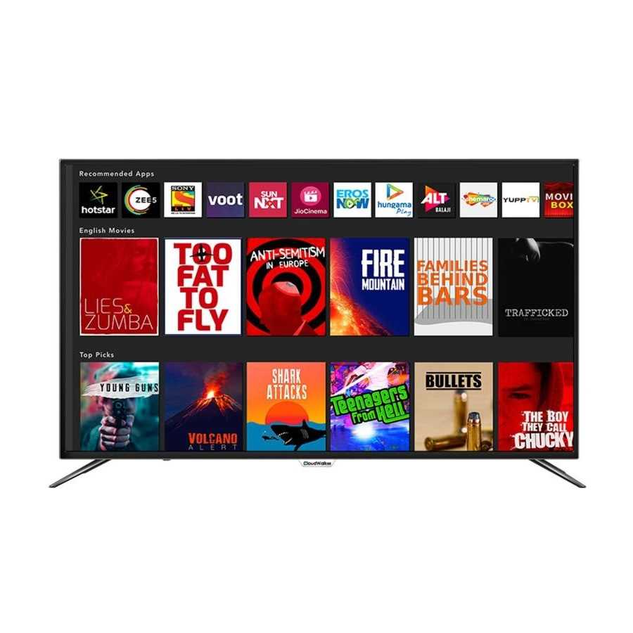 CloudWalker 65SUA7 65 Inch 4K Ultra HD Smart LED Television