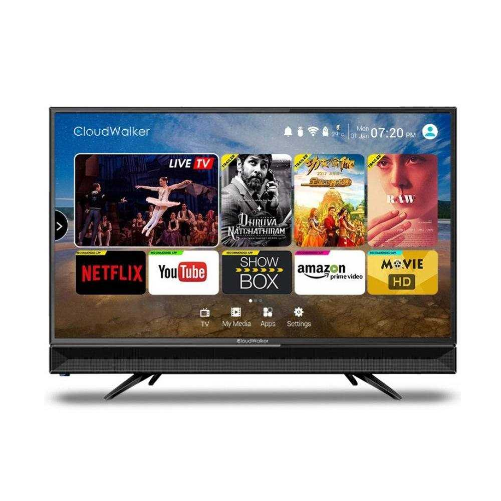 585dde082 CloudWalker CLOUD TV 32SH 31.5 Inch HD Ready Smart LED Television Price  30  May 2019