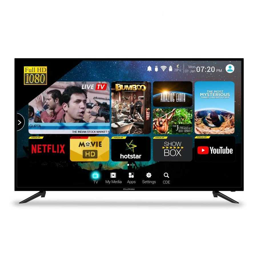 CloudWalker Cloud TV 50SF 50 Inch Full HD Smart LED Television