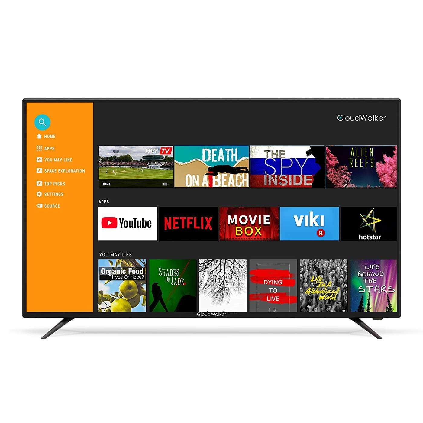 CloudWalker Cloud TV 50SFX2 50 Inch Full HD Smart LED Television