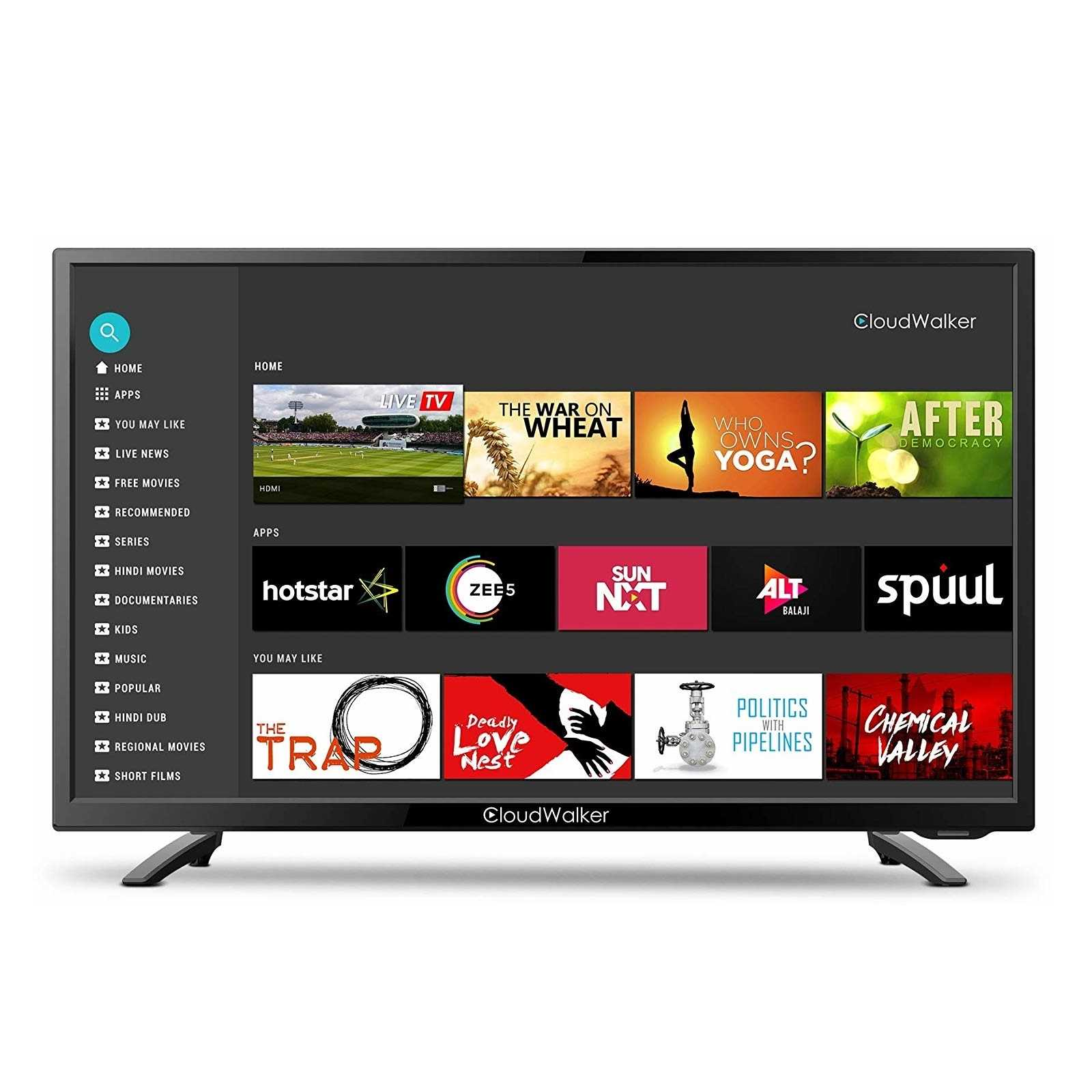 CloudWalker Cloud X3 32SHX3 32 Inch HD Ready Smart LED Television