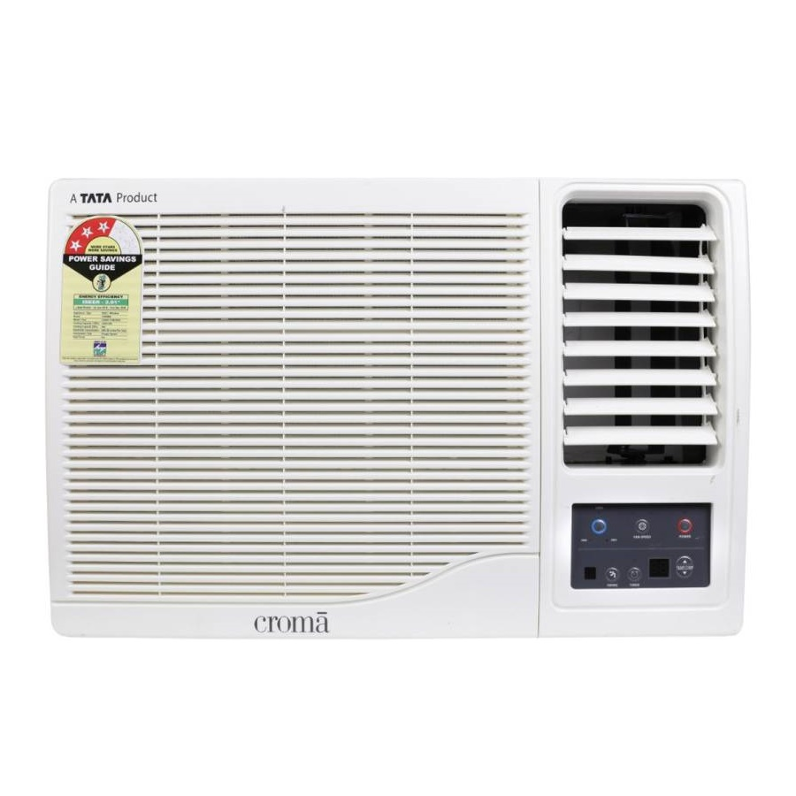 Croma CRAC1156 1 Ton 3 Star Window AC