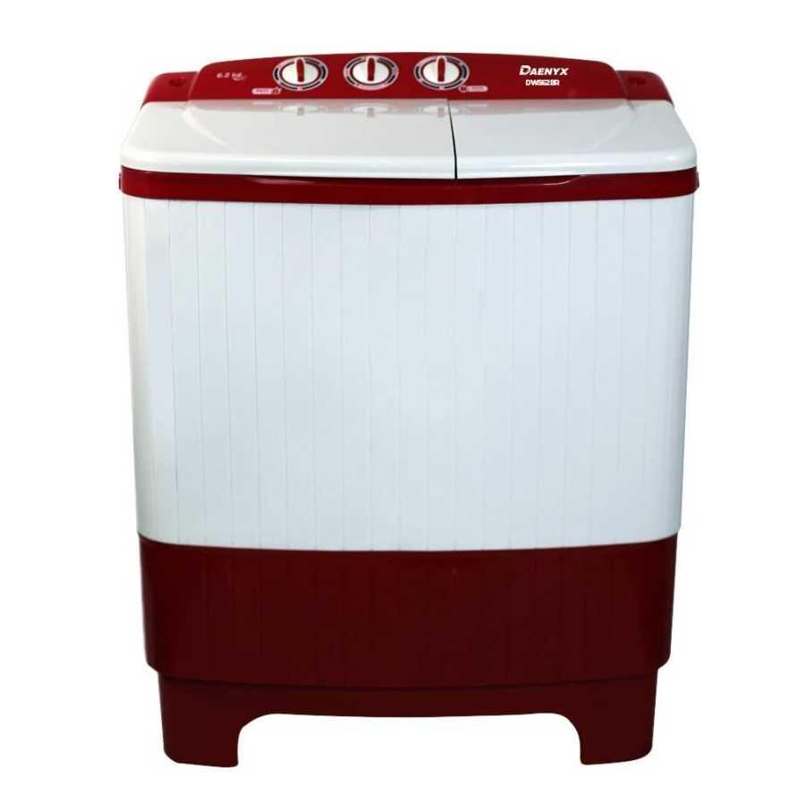 Daenyx DWS62BR 6.2 Kg Semi Automatic Top Loading Washing Machine