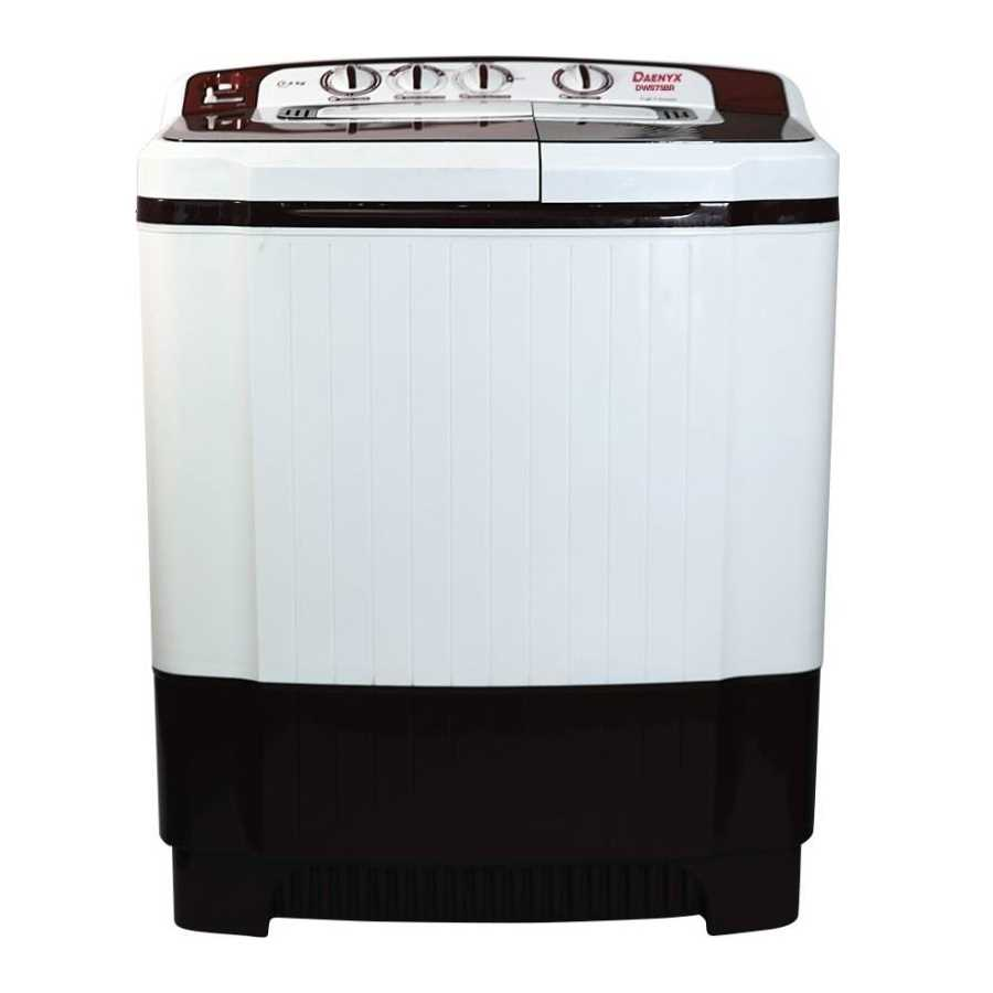 Daenyx DWS75BR 7.5 Kg Semi Automatic Top Loading Washing Machine