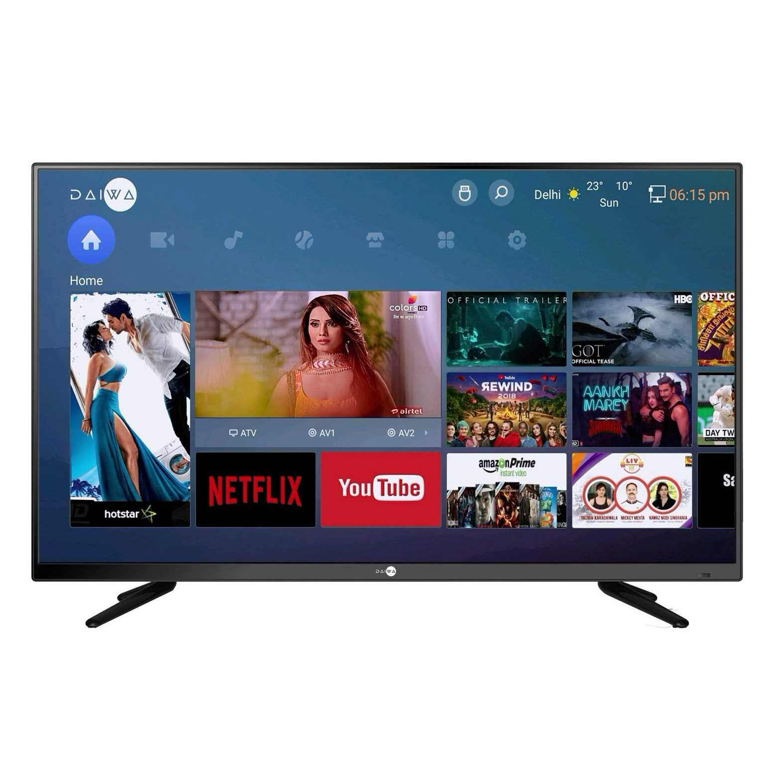 Daiwa D42E50S 40 Inch Full HD Smart LED Television