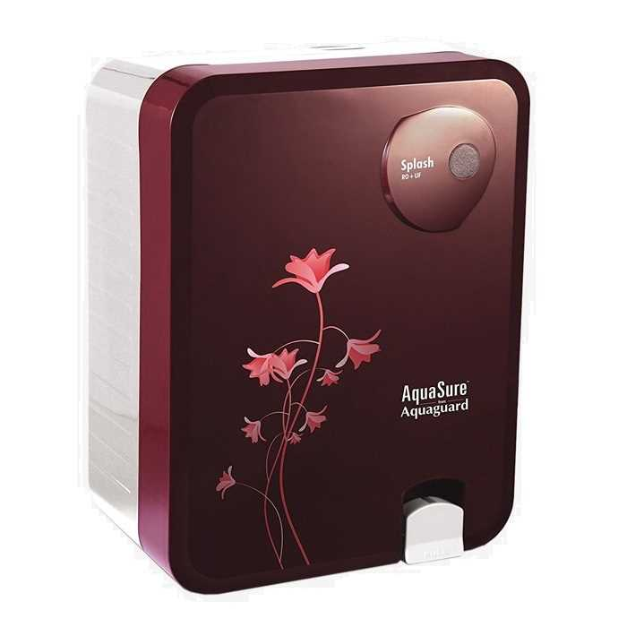 Eureka Forbes Aquasure Splash RO UF Water Purifier