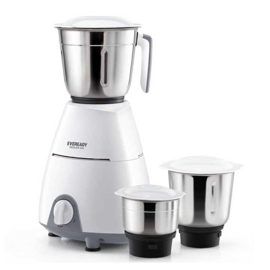Eveready Moler DX 500 W Juicer Mixer Grinder
