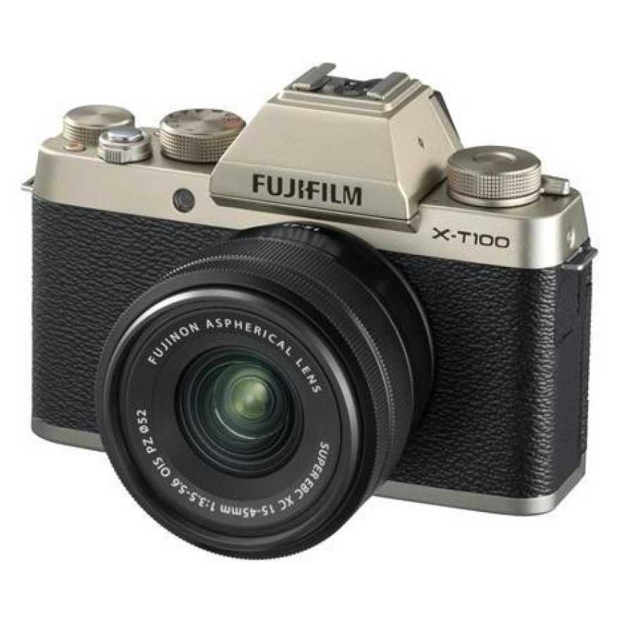 Fujifilm X-T100 Camera with 15-45 mm Lens