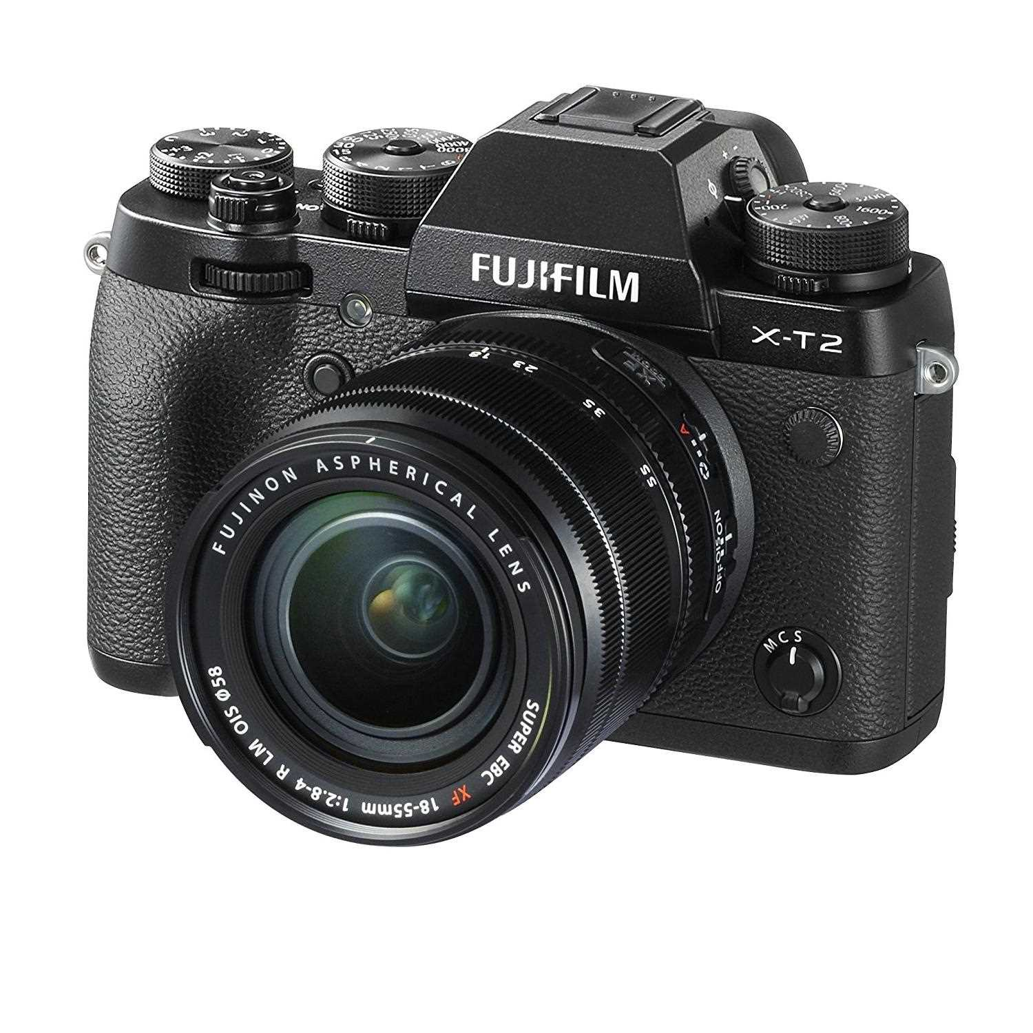 Fujifilm X-T2 Camera with 18-55 mm lens