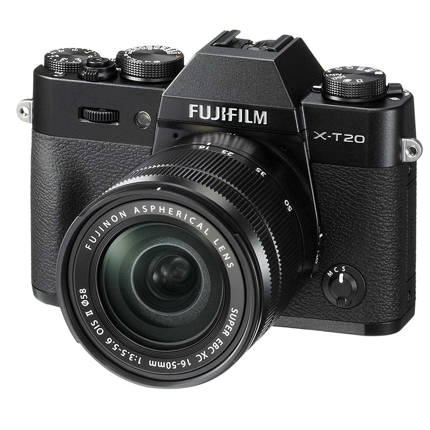 Fujifilm X-T20 Camera with 16-50 mm Lens